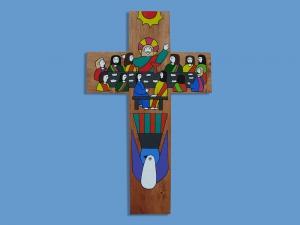 Drewniany krzyżyk MP-SC - MP-SC