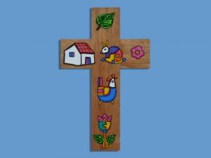 Drewniany krzyżyk MP-TC - MP-TC