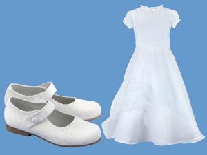 Zestaw do komunii dla dziewczynki  art. 0813 - Zestaw komunia 720  - pantofelki