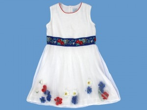 Lniana sukienka Polna Rusałka (2) art. 716(ko) - 2012