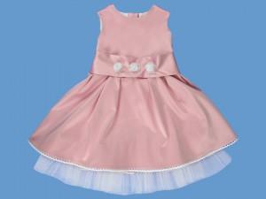 Satynowa sukienka Różyczka (2) art. 305 - MN-05-01-1-305