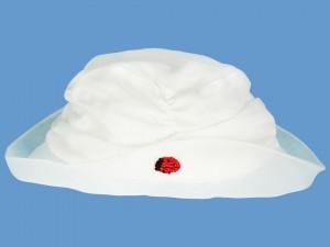 Lniany kapelusz z biedronką Coccinela (1) art. 135c - MN-04-01-2-135