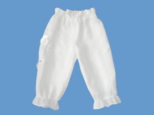 Lniane spodnie Mała syrenka art. 576 - MN-06-01-1-576