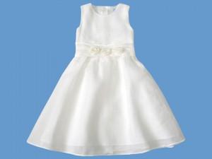 Sukienka komunijna Perłowa różyczka art. 574 - MN-06-01-1-574