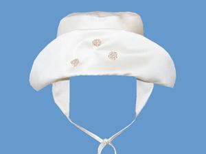 Satynowy kapelusz Złota polana art. 021c - MN-03-01-2-021