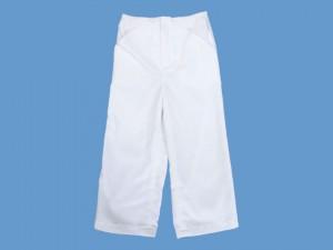 Białe ciepłe spodnie Pan Samochodzik na zimę art. 687 - MN-06-02-1-687