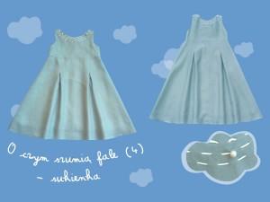 Lniana sukienka O czym szumią fale (4) art. 752 - MN-07-01-1-1411
