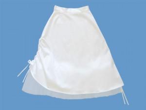 Satynowa spódnica do komunii Różana Balerina (2) art. 823 - xxx4