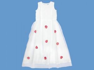 Biała sukienka do komunii Zapach Róży art. 513 - MN-05-02-1-513