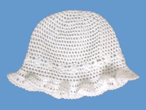 Ażurowy kapelusik Papilonella art. 947 - MN-09-07-947