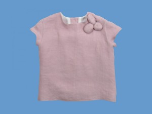 Bawełniana bluzeczka Różowy kamyczek art. 960 - MN-2010-lato-960