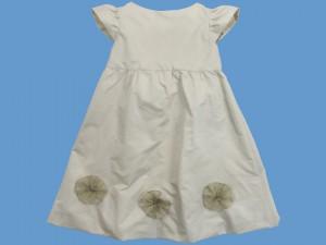 Sukienka z beżowej tafty Letni poranek art. 962 - MN-2010-lato-962