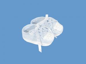 Buciki ażurowe Błękitna chmurka - C-57078-4