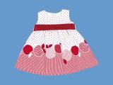 Słodka sukienka Czerwone Jabłuszko 57367-0