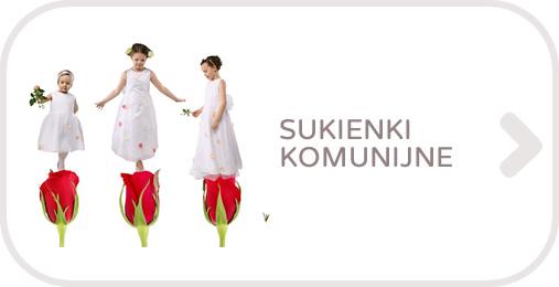 Sukienki komunijne