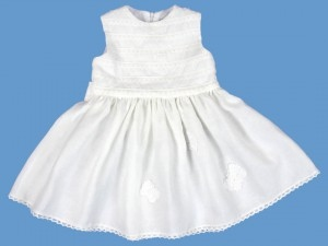 Biała sukienka Papillonela art. 139(ko) - dfdf