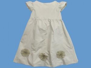 Sukienka z beżowej tafty Letni poranek art. 962(ko) - sf