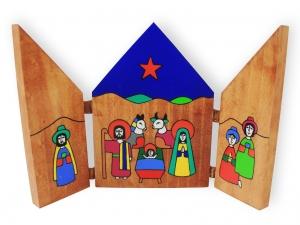 Drewniany otwierany obrazek - MP-706