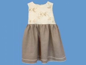 Lniana sukienka Rusałka Złocistych łąk (4) art. 437 - MN-05-02-1-437