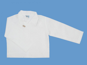 Koszula lniana z długim rękawem Atelier art 586 - MN-06-01-1-586