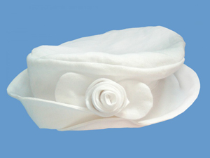 Lniany kapelusz Różyczka art. 147c - MN-04-01-2-147