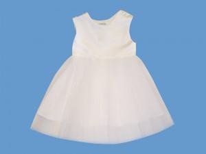Satynowa biała sukienka Poranna Rosa (1b) art. 133 - MN-04-01-1-133
