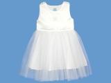 Lniana biała sukienka Poranna Rosa (1a) art. 132