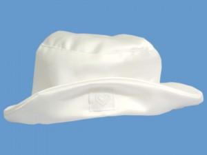 Biały kapelusik Sercowa Szkatułka (2) art. 020c - MN-03-01-2-020