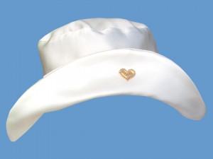Ecru kapelusz Sercowa Szkatułka (1) art. 019c - MN-03-01-2-019