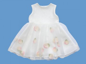 Biała lniana sukienka Różana rusałka (1) art. 565 - MN-06-01-1-565