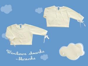 Waniliowa chmurka bluzeczka art. 630k - MN-07-02-4-745