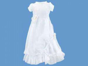Sukienka do komunii z rękawkiem Różany Wietrzyk art. 721 - MN-07-01-1-1331