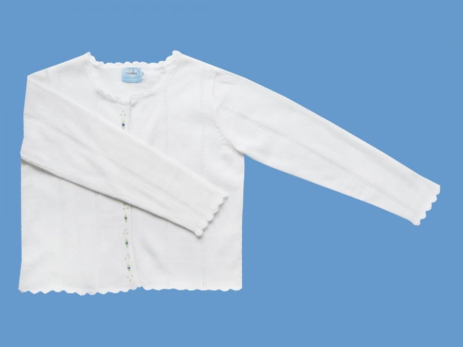 Bawełniany sweterek Różyczka art. 730 - MN-07-01-??-1349