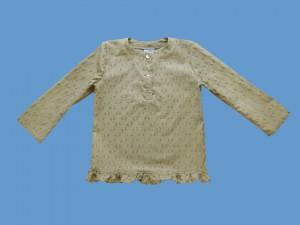 Bawełniana bluzeczka Karmelowe dropsy art. 767 - MN-07-01-5-1424