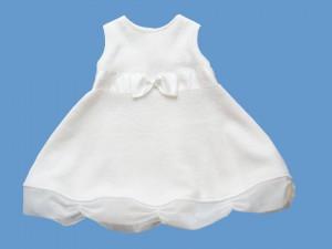 Wełniana sukienka Kremowa Chmurka (1)a art. 770 - MN-07-02-1-1428