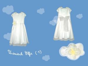 Sukienka do komunii Uśmiech Elfa (1) art. 728k - MN-08-02-1-1463