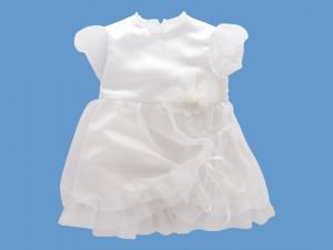 Satynowa sukienka do chrztu Różany wietrzyk (2)art.935 - MN-09-03-935