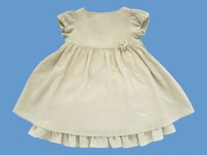 Lniana ecru sukienka Marianna (2) art. 941 - MN-09-05-941