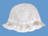 Ażurowy kapelusik Papilonella art. 947