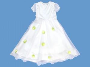 Sukienka do komunii Różany Deszczyk  (1) art. 509 - MN-05-02-1-509